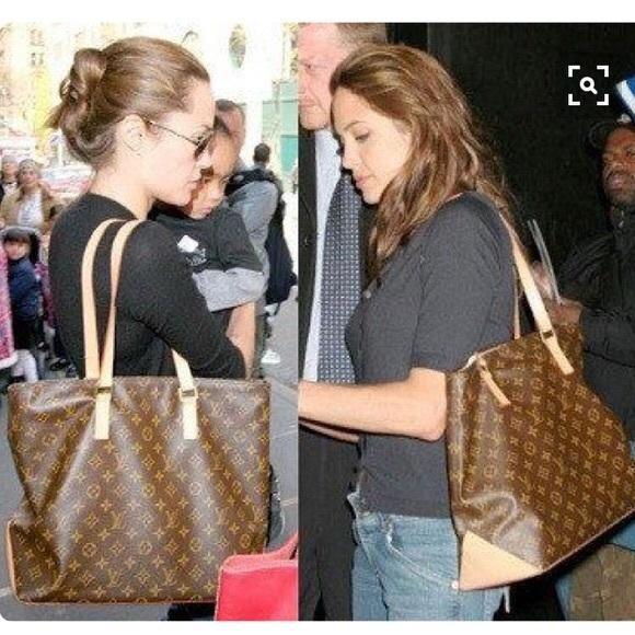 250ed73a3767 Louis Vuitton Handbags - Authentic Louis Vuitton Cabas Mezzo Shoulder Tote